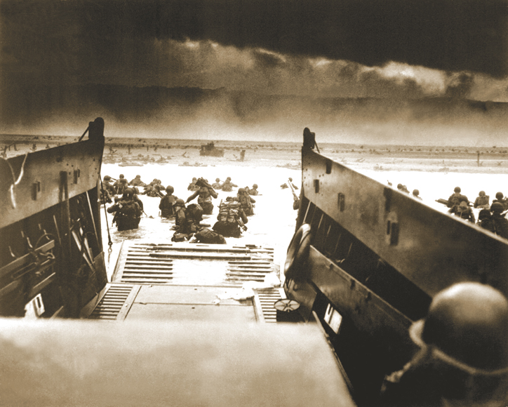 The D-Day landing on June 6, 1944.