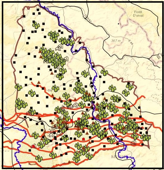 Geographical Map Of Germany.Teaching And Mapping The Geography Of The Meuse Argonne Offensive