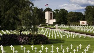 Luxembourg American Cemetery panorama
