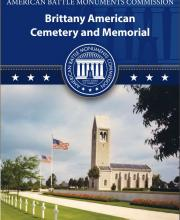 Brittany American Cemetery Brochure cover (French)