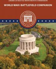 Cover of ABMC's Battlefield Companion showing Montsec Monument