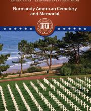 Cover of Normandy American Cemetery Booklet