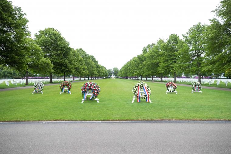 Memorial Day 2020: Netherlands American Cemetery wreaths