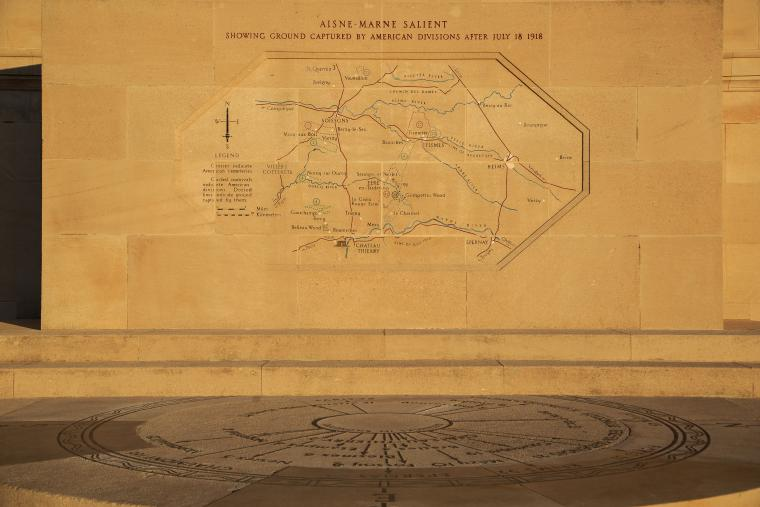 Chateau-Thierry American Monument: Operations Map