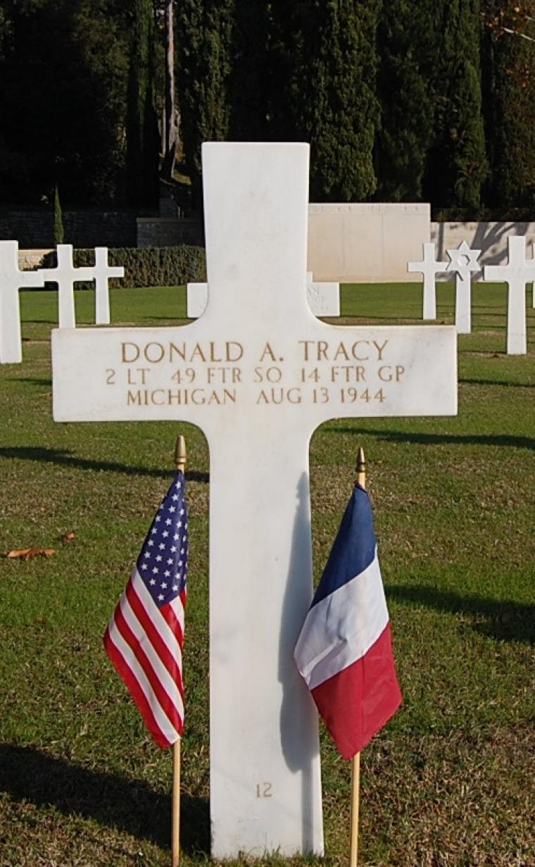 Tracy, Donald A.
