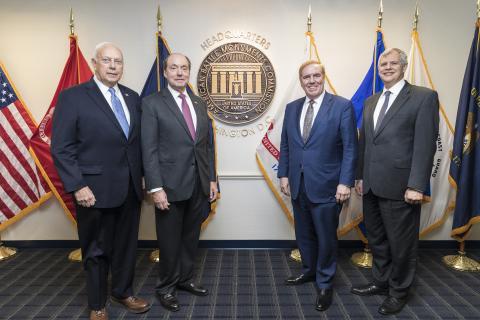 Secretary Matz, Ambassador Gidwitz, Ambassador Evans, and Deputy Secretary Dalessandro.