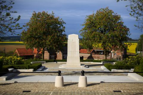Cantigny American Monument is located in the village.