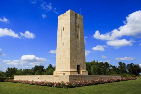 American Memorial Near Sommepy