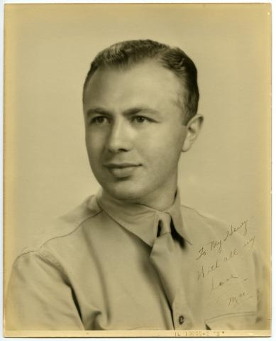 SSgt. Max Chotin in uniform in an undated photo.