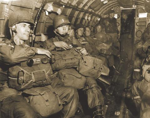 Members of the 82nd Airborne Division.